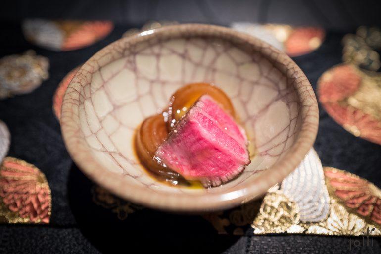 讚岐橄榄牛,用寿喜烧吃法