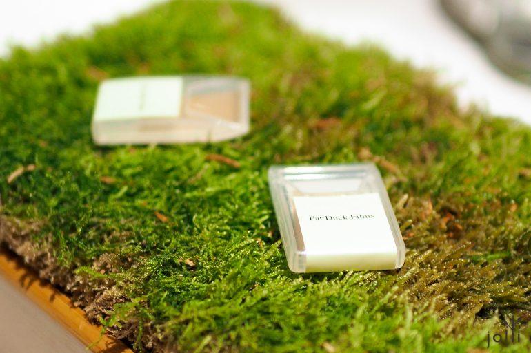 苔藓及栎树口味的膜片