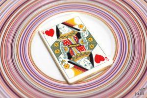 红心皇后的扑克牌巧克力