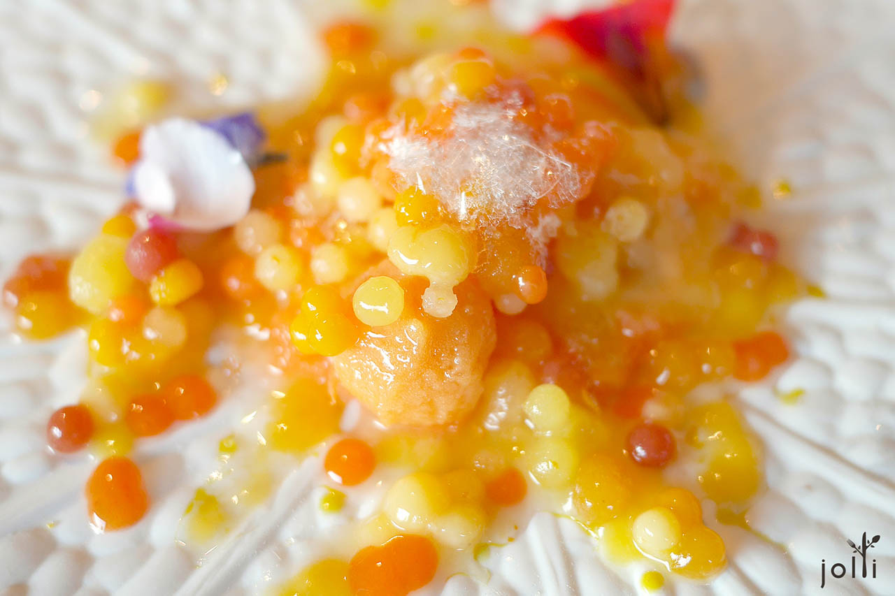 橙色珍珠:橙、橘子、蛋黄、西番莲、胡萝卜