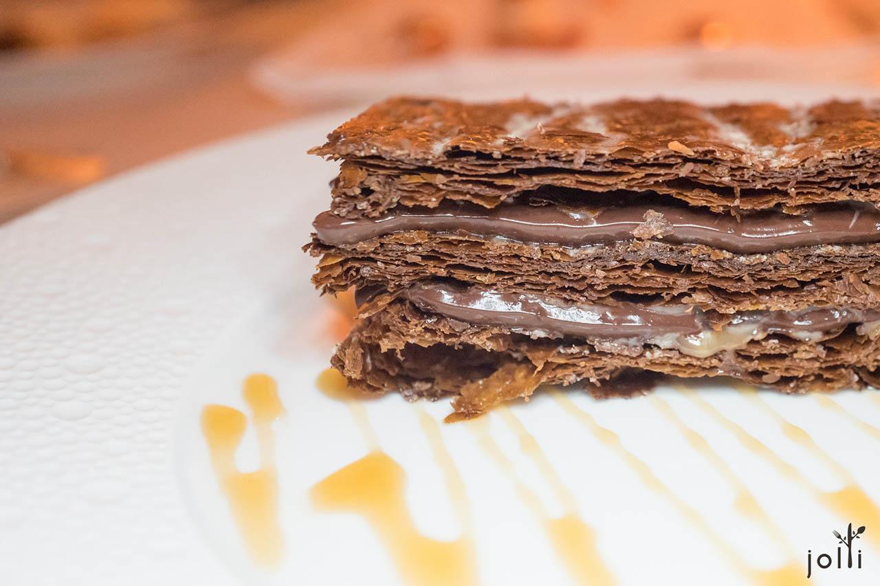 巧克力千层酥
