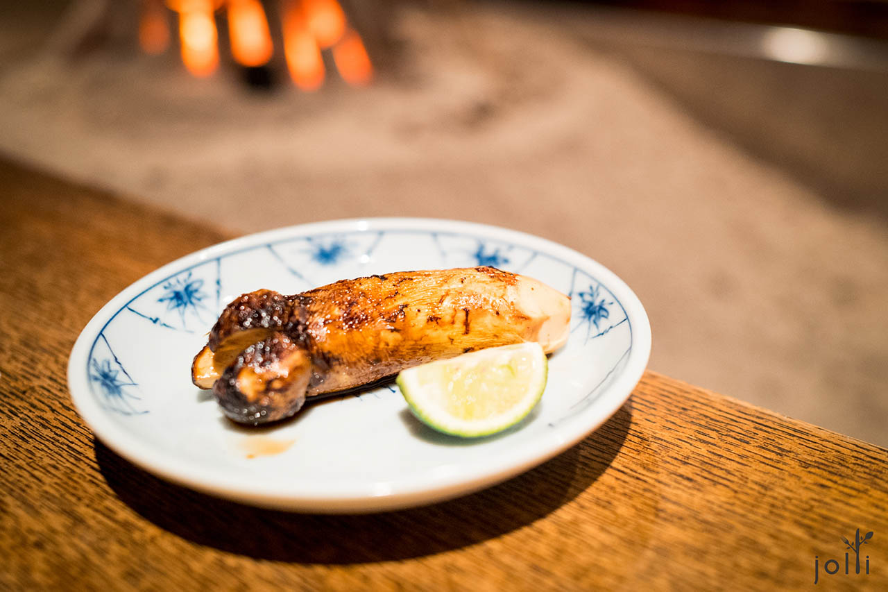 炭烤羅望子醬油松茸