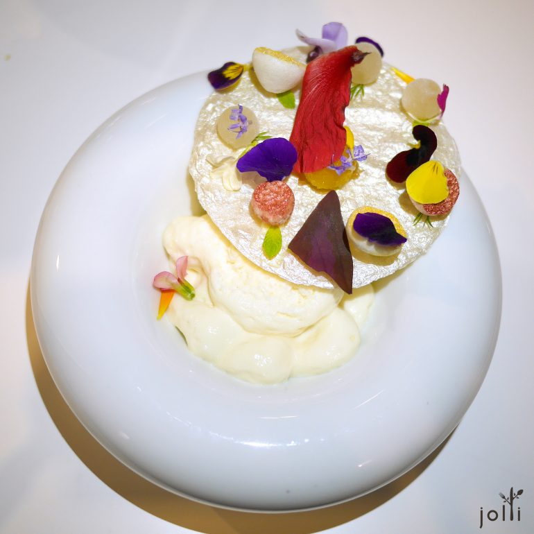 芒果慕司-熱情果-荔枝蛋白餅-食用花
