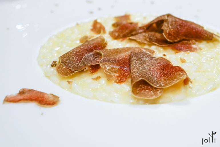 意大利炖饭-帕米吉安诺奶酪-白松露