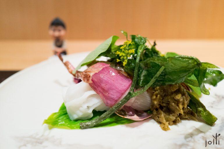 烏賊配野菜