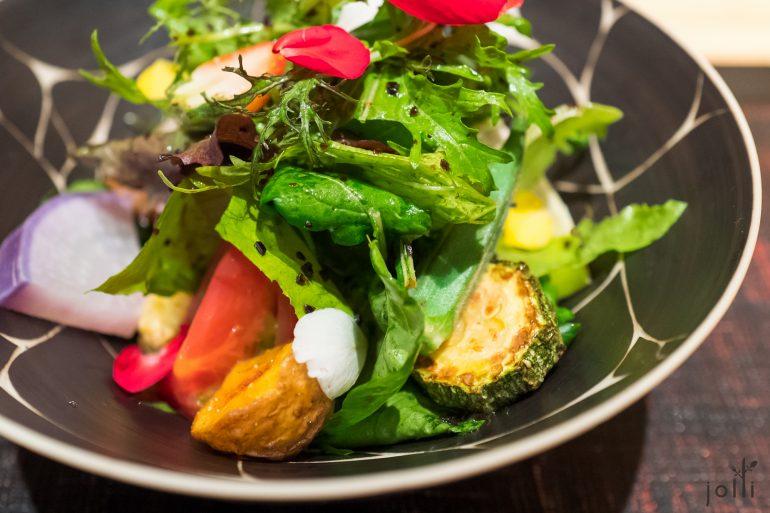 二十幾種不同蔬菜的沙拉