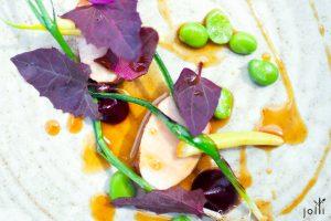 熟成豬肉-紅菜頭-韭蔥