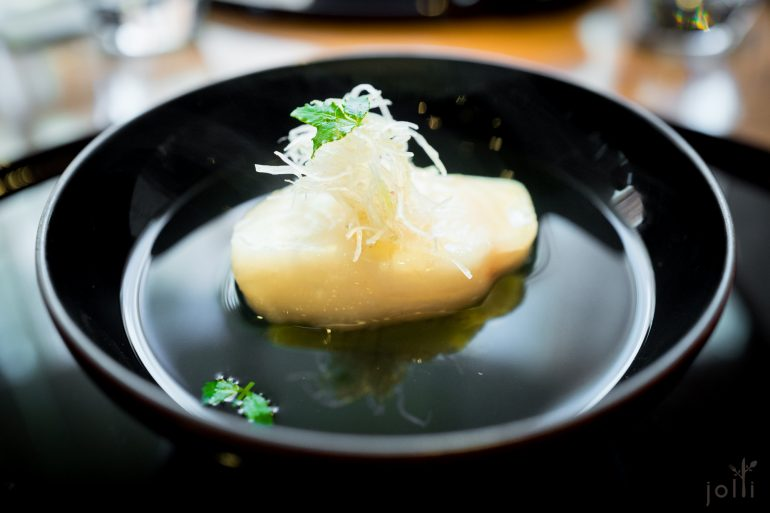 鱈魚-豌豆豆腐-清湯
