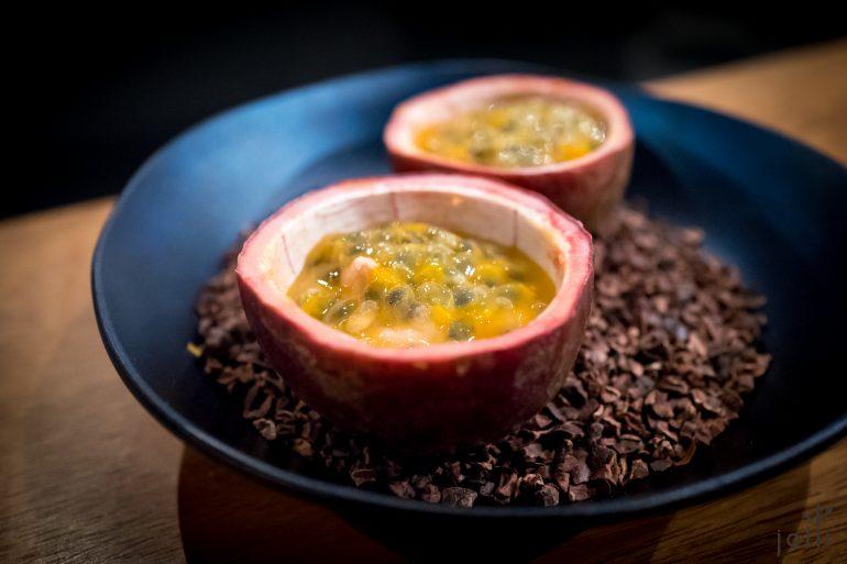百香果-鹅肝-柚子果冻
