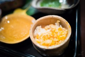 酱油渍蛋黄拌饭