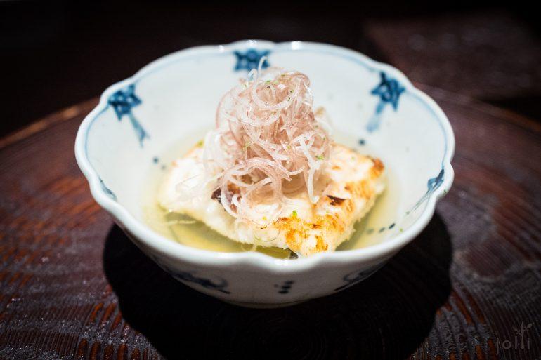 海鰻-茗荷-高湯-青柚子皮
