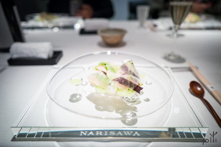 马鲛鱼-冬瓜-紫苏-菠菜酱汁