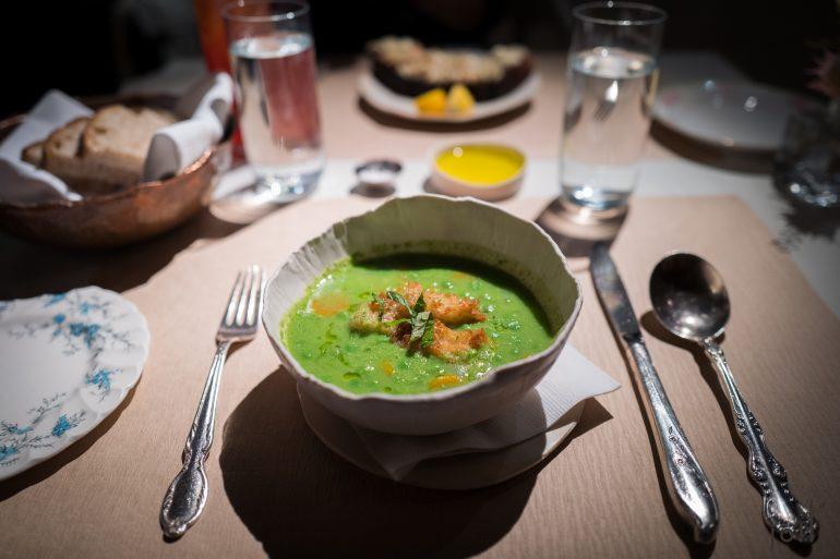 豌豆-胡蘿蔔-薄荷湯