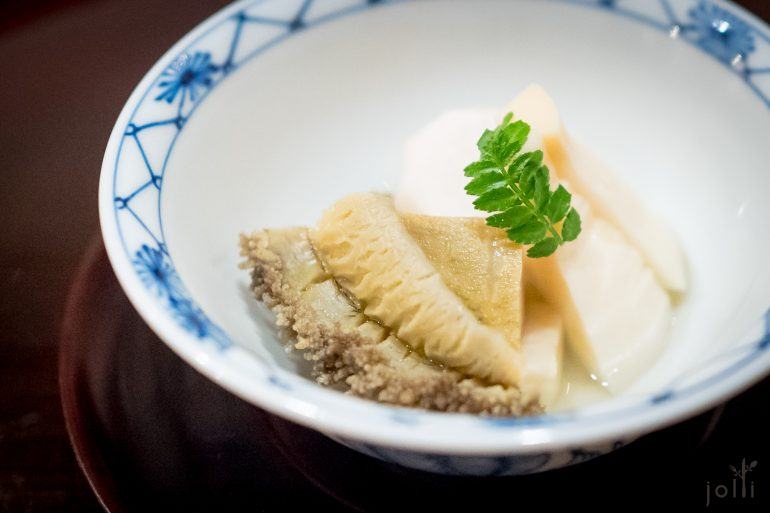 蒸鲍鱼-子芋-竹笋
