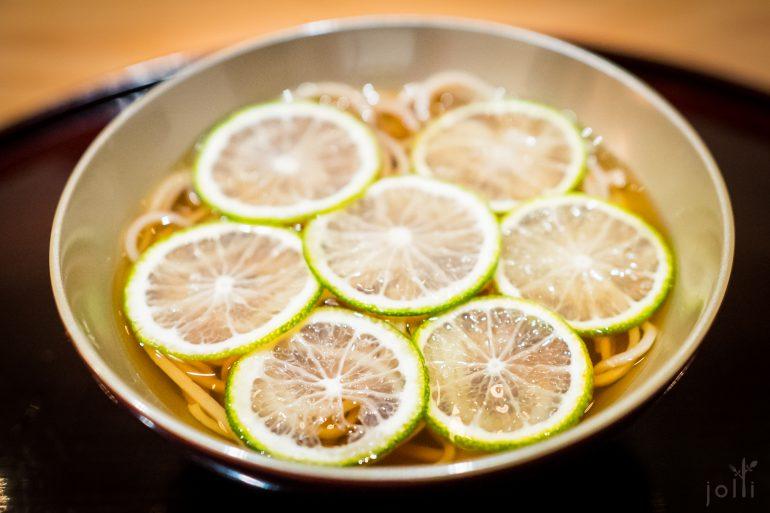 酢橘十割荞麦冷面