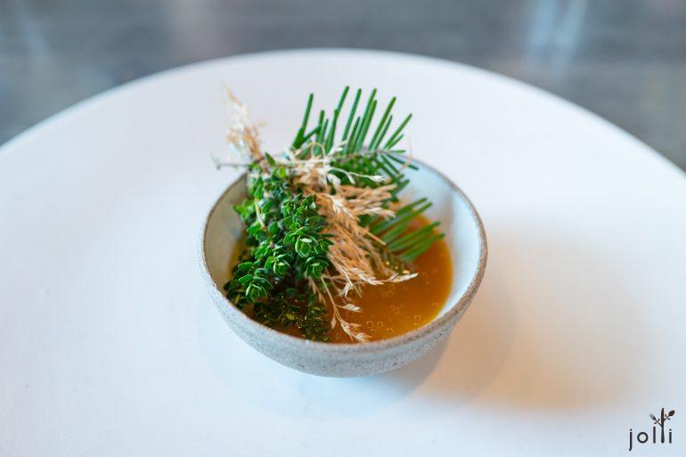 野生黄莓清汤