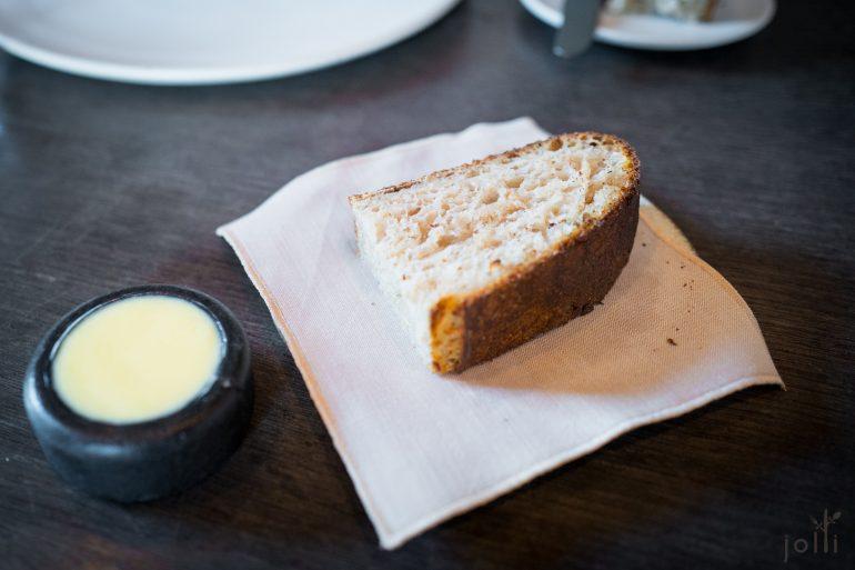 酸种面团配挪威黄油