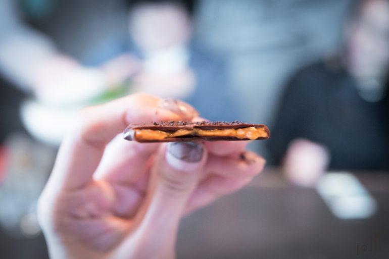 黑麦粥巧克力饼