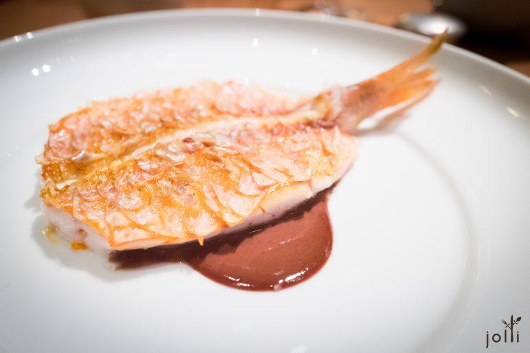 紅鯛魚佐魚乾醬