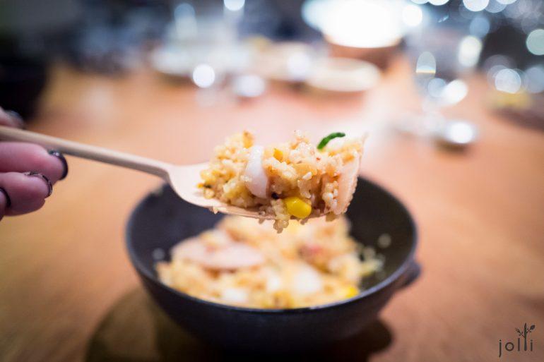 玉米粉-蛤蜊-鱿鱼-玉米-盐角草