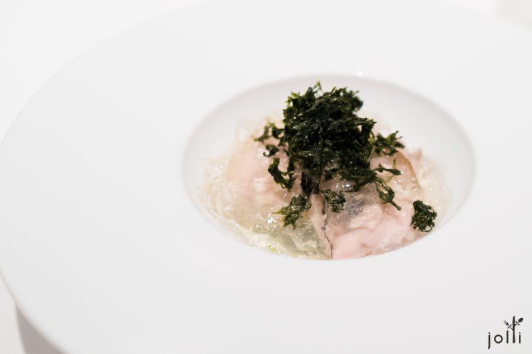 廣島牡蠣-牡蠣慕斯-海藻果凍-青海苔-黑海苔