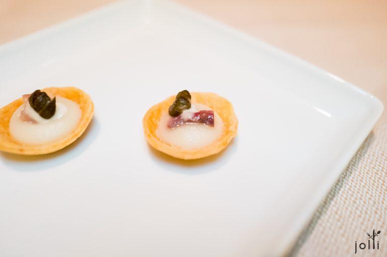 洋蔥撻-鳳尾魚-炸水瓜柳