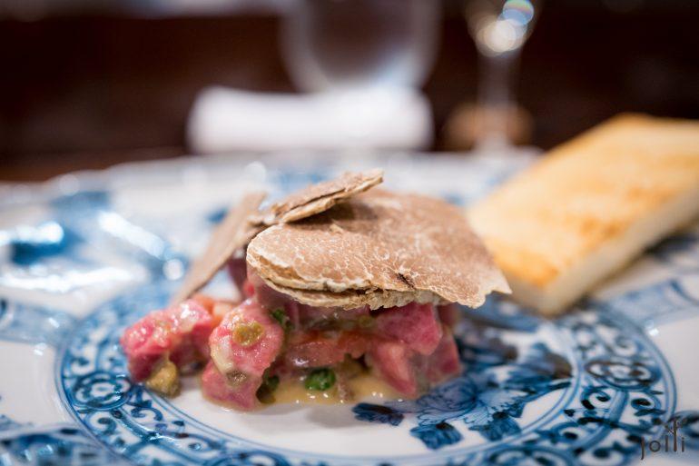 牛肉鞑靼-番茄-水瓜柳