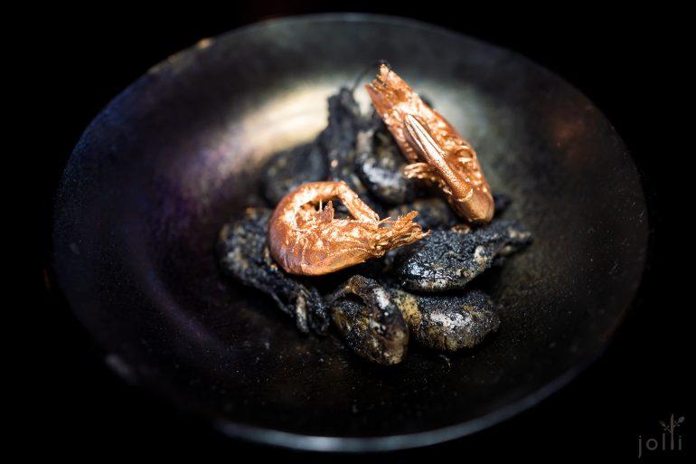 墨鱼醋粉脆蝦