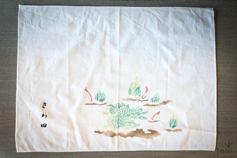 2014年澤田太太根據季節設計的餐巾