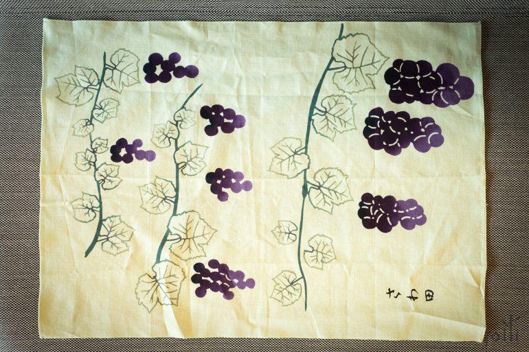2015年澤田太太設計的餐巾