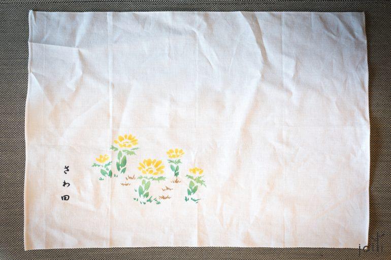2017年澤田太太設計的餐巾