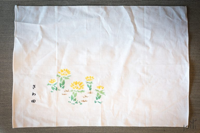 2017年泽田太太设计的餐巾