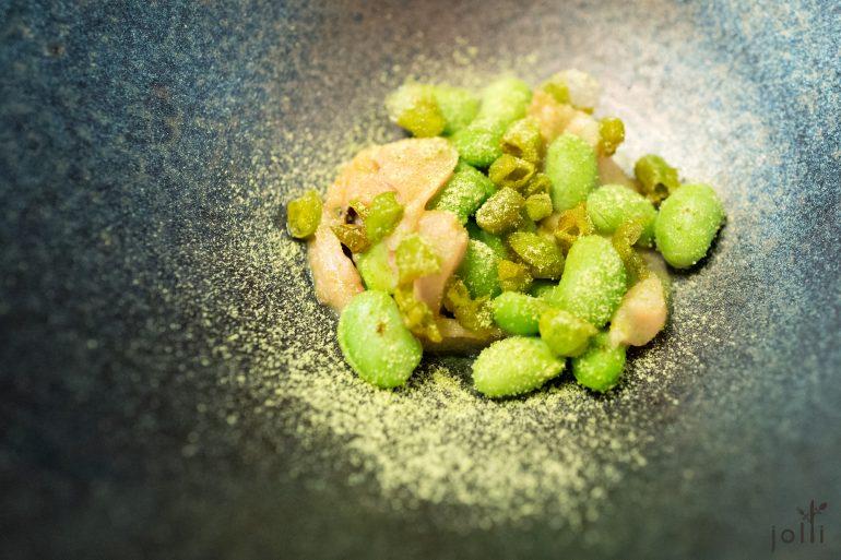 毛豆-蛤蜊汁-绿茶粉-文蛤-脆豌豆皮