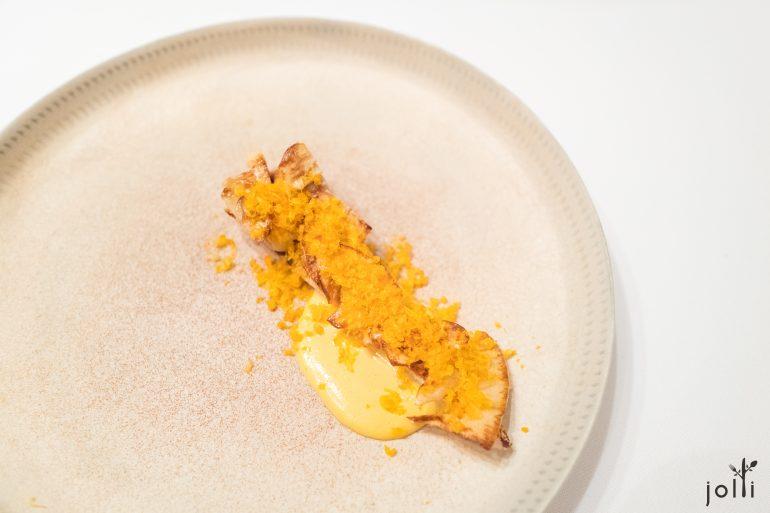 刺鲳-竹荪-乌鱼子-乌鱼子酱汁