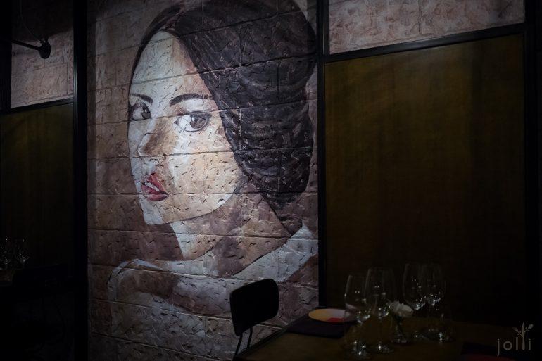 餐厅的壁画