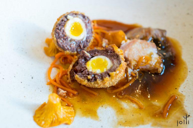 黑布丁蘇格蘭鵪鶉蛋