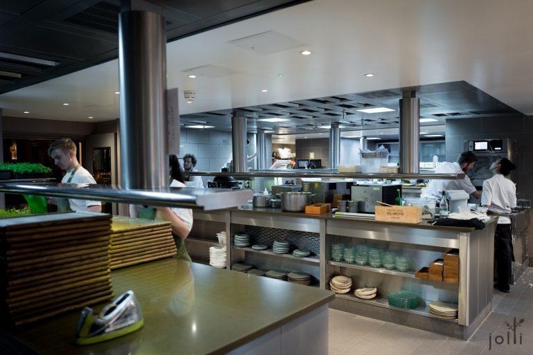 """Fera at Claridge's""的厨房"