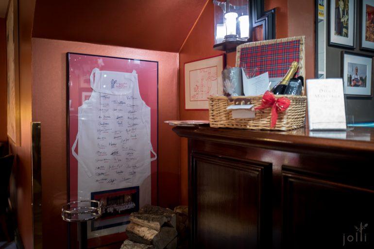 米其林厨师签名围裙