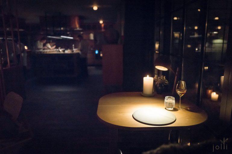 孤独的一人晚宴