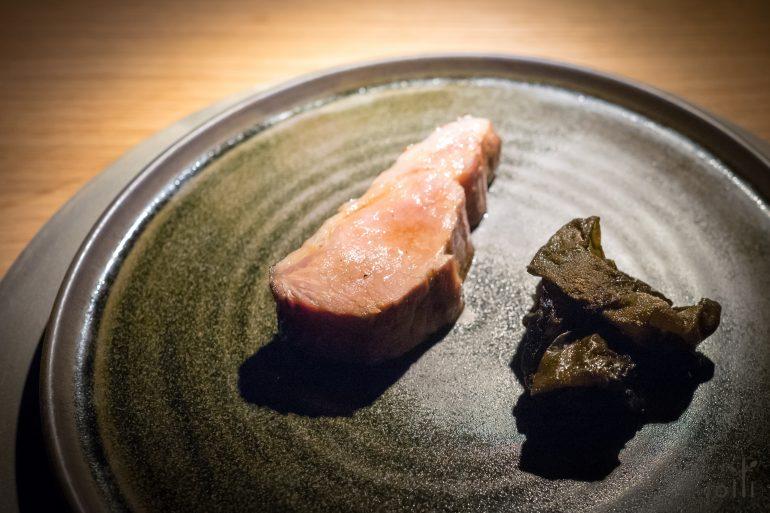 用褐奶油熟成6星期的丹麥豬肉