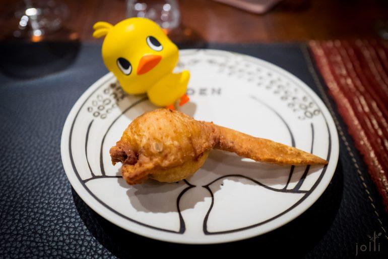 炸釀鸡翅外酥内绵