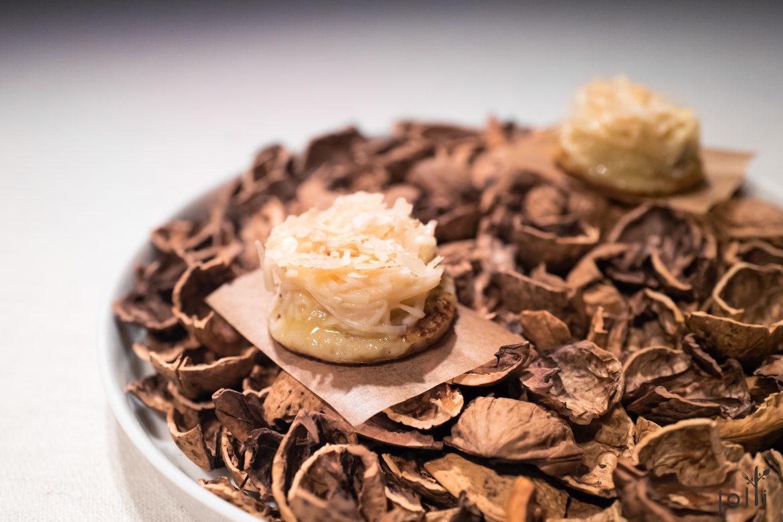 黑麦煎饼-核桃奶油-野鸭舌-核桃