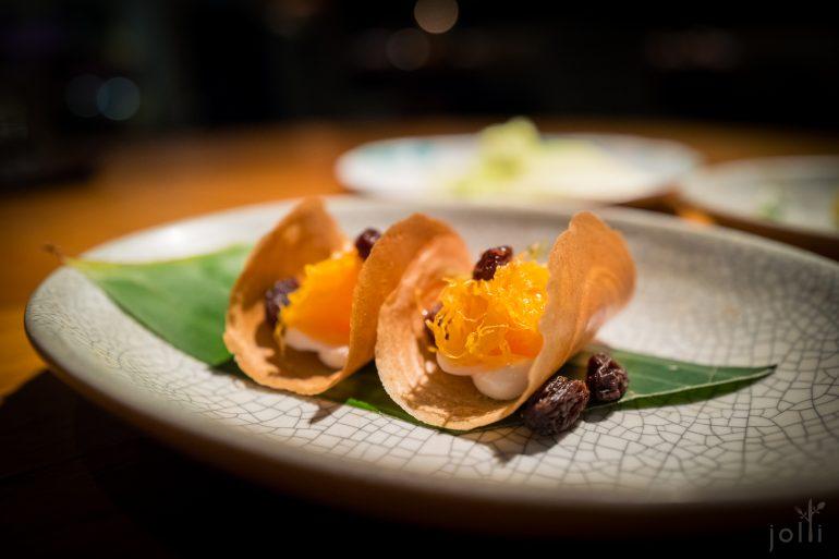 泰国传统小吃Khanom Bueang