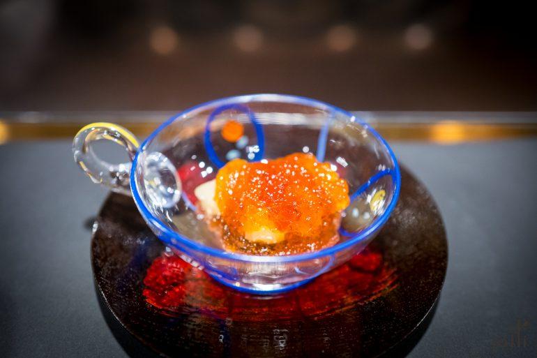桃香菠萝配伯爵茶果冻