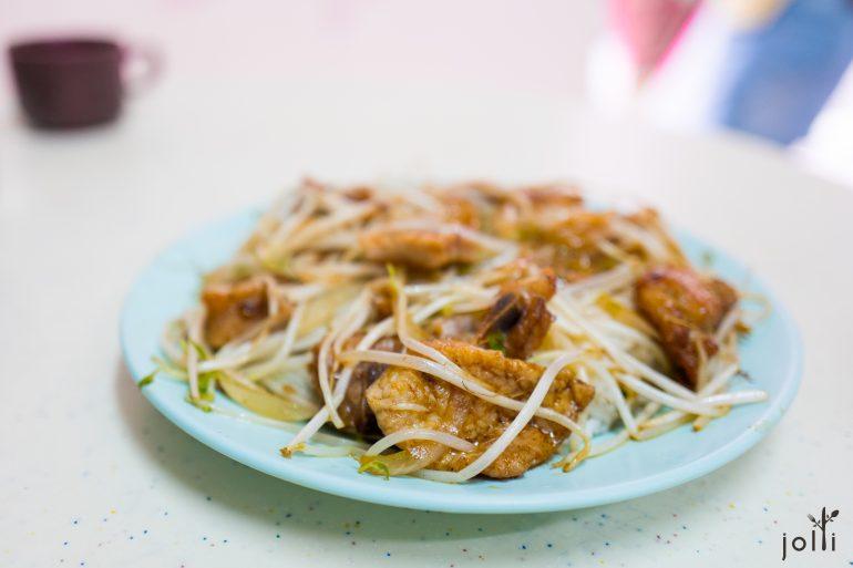 猪排芽菜饭