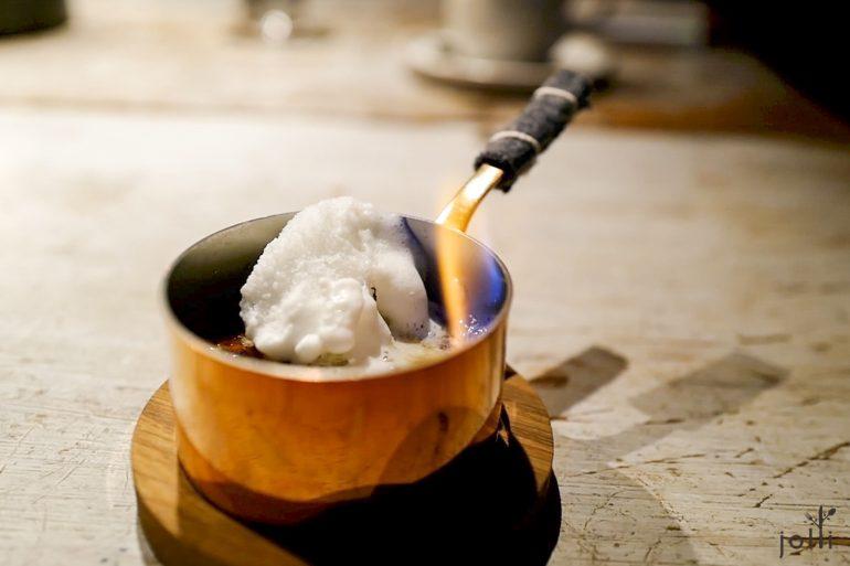 骨髓烤布丁及牛奶冰霜