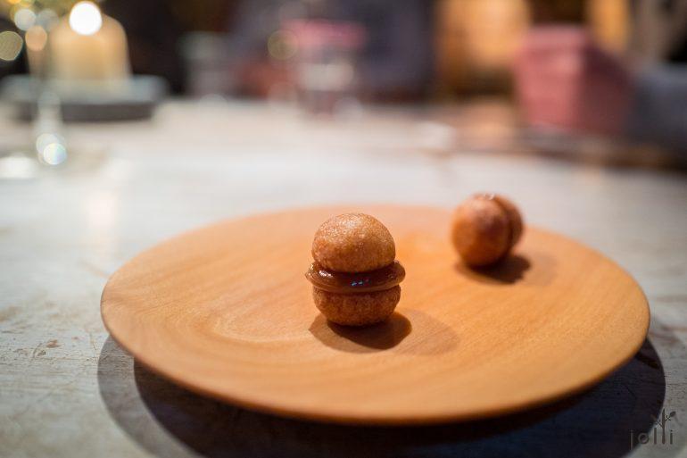 土豆淀粉饼夹土豆焦糖