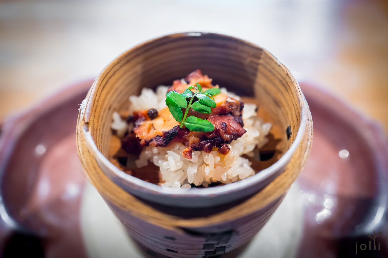 山椒章鱼饭