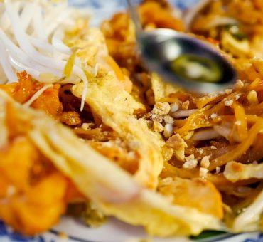 曼谷|Lueng Pha Pad Thai - 炭火蛋包蝦油炒泰式河粉