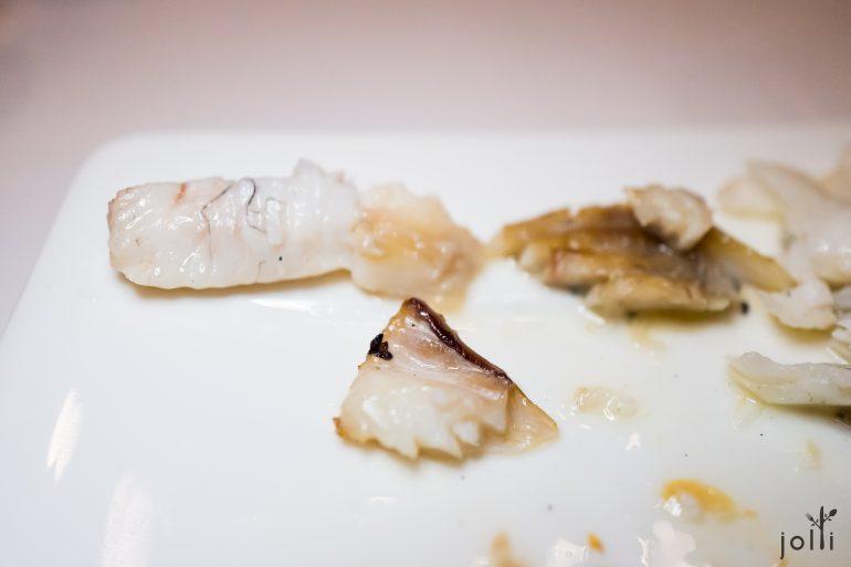 颈背(左)、白皮魚胸(中)、黑皮魚胸(右)